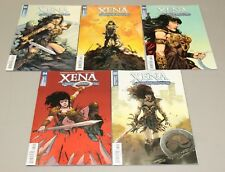 Xena Warrior Princess #s 1-5 Complete Cover A Comic Book SET 2018 - Dynamite NM