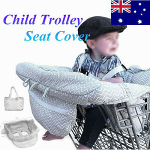 Baby Shopping Supermarket Trolley Cover Child Cart Seat High Chair Protecter AU