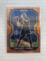 2020 Panini Prizm Anthony Gordon Rookie RC Orange Ice SSP - Seahawks, #391