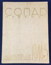 Scarce WWII Conad History / Yearbook Communications Zone European Theatre