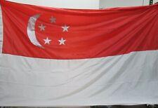 Nylon Singapore Flag 6' x 10'