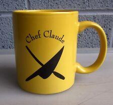 MACOMBER CAFE Chef Claude Estep coffee mug Dyer's Chop House Toledo