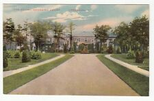 [60729] OLD POSTCARD THE COURT AT GEORGIAN COURT IN LAKEWOOD, NEW JERSEY
