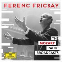 THE MOZART RADIO BROADCASTS - FRICSAY,FERENC/RIASSO  4 CD NEU MOZART