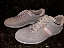 ECCO Gray Suede Fashion Sneakers #11148   Size 41