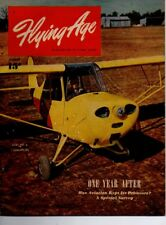 "Flying Age Magazine August 1946 Vol.53 No 4 ""One Year After"""