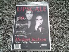 Vintage UPSCALE magazine Michael Janet Jackson cover story 1990s Excellent