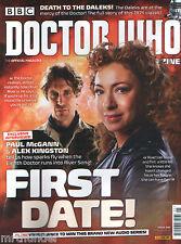 Doctor Who Magazine #495 - Weetabix Cards Paul McGann Alex Kingston Derek Ware