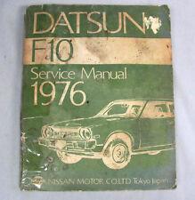 Nissan Datsun F10 1976 Service Manual