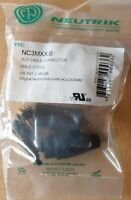 Neutrik NC3MXX-B XLR 3-pol male Stecker - vergoldete Kontakte - OVP