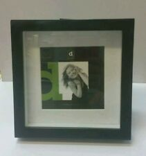 Black square shadow box photo picture frame 5x5/7x7
