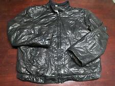 Vtg Mens Wilsons Leather Jacket Size 42 Fight Club Mod Indie Western Biker Coat