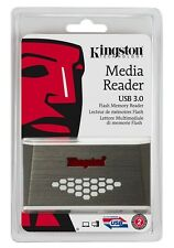 Kingston FCR-HS4 USB 3.0 Media Card Reader 32GB 64GB 128GB CF microSD SDXC