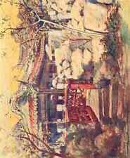 A4 Photo Menpes Mortimer 1855 1938 China 1909 A summerhouse Print Poster