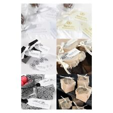 Wedding Favour Tags x 25 For Thank You Gift Party Bomboniere Souvenir