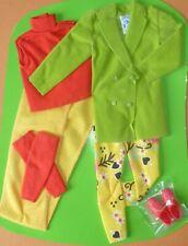 RARE 1990 Vintage Benetton Barbie Doll Green Fashion.