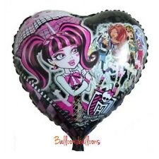 "Monster High 18"" Heart Party Balloon Helium Birthday Decoration Celebration"