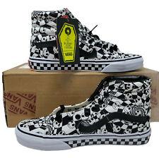 Vans Custom Sk8-Hi Nightmare Before Christmas Black/White Size 7.5 Men's Shoe