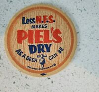 Vintage 4  Piels Costers Bar Advertisements Collectible Breweriana UNSUED