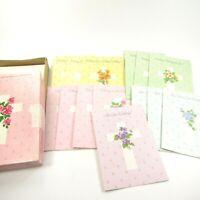 Vintage Sunshine Birthday Cards Bible Scriptures UNUSED box set of 14 cards