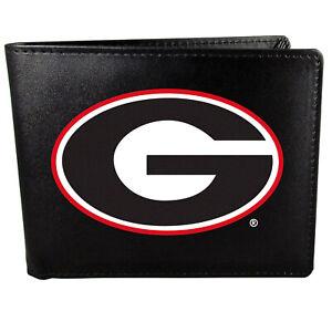 Georgia Bulldogs Bi-fold Wallet, Large Logo
