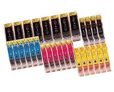 30x Tinte Patrone für Canon PIXMA IP5200 IP5300 MP970 IP4500X IP4200X mit chip