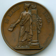 Charles X Adresse des 221 Médaille par Caunois 1830