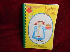 WORCESTER COUNTY, MASS KITCHEN KAPERS OPERATING ROOM NURSES, COMMUNITY COOKBOOK