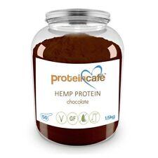 PROTEIN CAFE FLAVOURED HEMP PROTEIN - 1.5KG (Chocolate) VEGAN POWDER