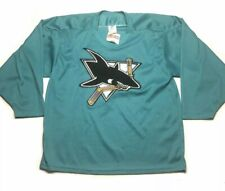 Vintage San Jose Sharks CCM Hockey Jersey Men's Size M Medium W/Tag Made In USA