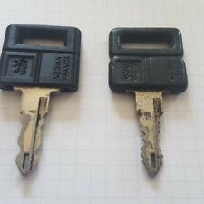 Clé PEUGEOT 205 - cache de clé pour 205 gti - impression 3D