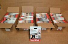 WHOLESALE LOT 100 CLASS 10 SanDisk Ultra 128GB microSDXC Memory Card MICRO SD