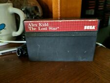 Alex Kidd: The Lost Stars (SEGA Master System) *GAME CART ONLY - TESTED* Cleaned