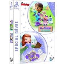 DISNEY Coffret DVD Docteur la peluche + Princesse Sofia  NEUF sous blister