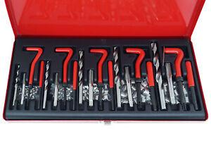 Kit riparazione filetti elicoidi maschi ripristina filettature 131 pz