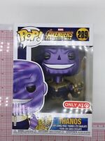 FUNKO Pop! Marvel: Avengers Infinity War - Metallic Thanos - Target #289 F03