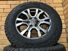 Ford Ranger Wildtrak Genuine 18 inch Wheels & 275/65/18 Falken AT3 Tyres New Set