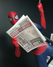 "1/6 Scale Newspaper - Daily Bugle for Spiderman Peter Parker ""Who Is Spiderman"""
