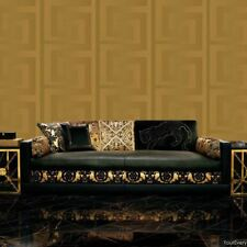 VERSACE GREEK KEY LUXURY DESIGNE WALLPAPER 10m x 70cm - GOLD 935232