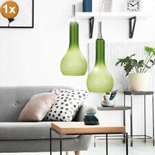 Plafonnier Vintage lampe invités dormir chambre verre spotlight pendentif vert