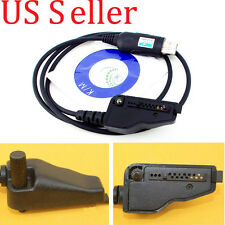 USB Programming Program Cable Cord For Kenwood Radio TK-280 TK-380 +Software&SN