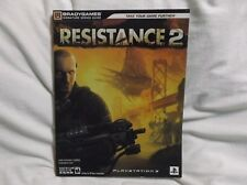 RESISTANCE 2 Brady Video System Games Strategy Guide PS3 * Free Shipping! * VG+