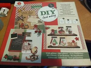 BLOCK WITH GREETING CARDS CHRISTMAS FOR MAKE 12 CARDS/NO SCISSORS NEED (Z05)