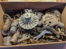 Vintage Hardware Lot With Old Box Steampunk