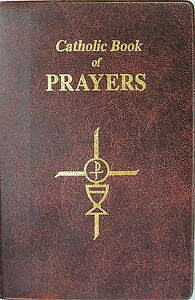 LARGE PRINT Catholic Prayer Book Colour Illustrated 255 Pages Religious Gift