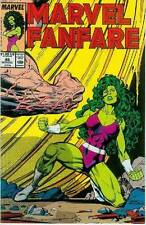 Marvel Fanfare # 48: She-Hulk (also Vision) (Estados Unidos, 1989)