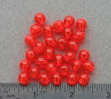 8mm 200 Count Round Fluorescent Salmon Egg Beads USA Fishing Tackle Free Ship