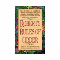 Robert's Rules of Order : The Modern Edition Paperback Henry M., III Robert