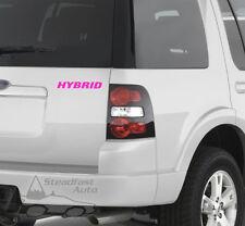 """HYBRID 6"""" X 1"""" VINYL DECAL STICKER - PINK"""