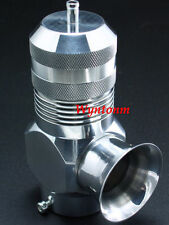 Type-H/ RFL BOV Blow off valve Turbo w/ Steel & Aluminum Weld On Flanges Silver